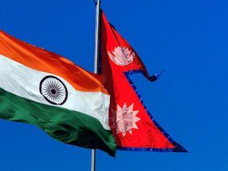 nepal-indai flags