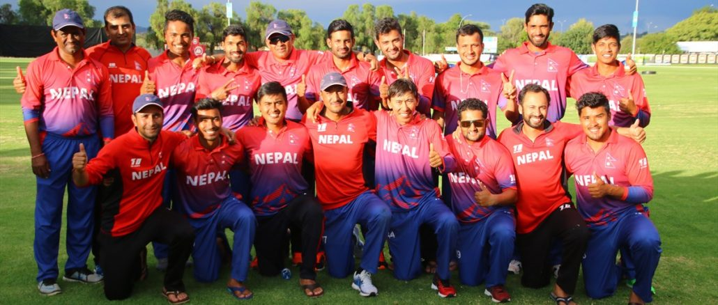 Nepal team in icc div 2--2018