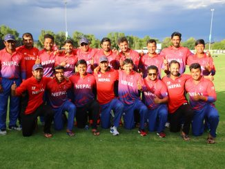 Nepal team in icc div 2--2018