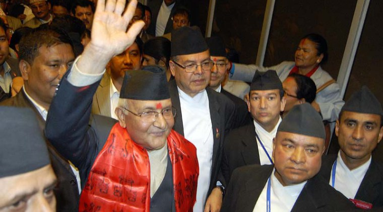newly appointed pm kp oli