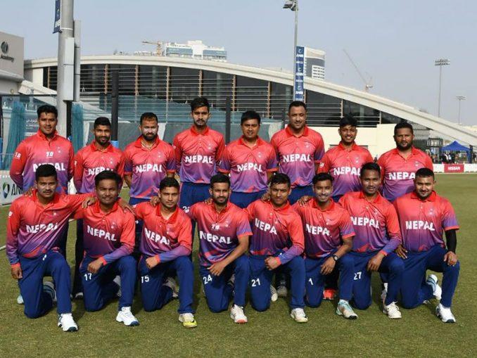 nepali cricket team-2019