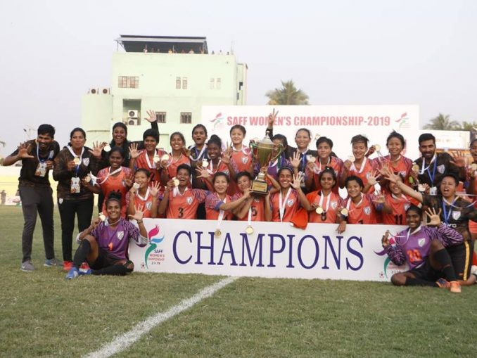 saaf women footbal-India