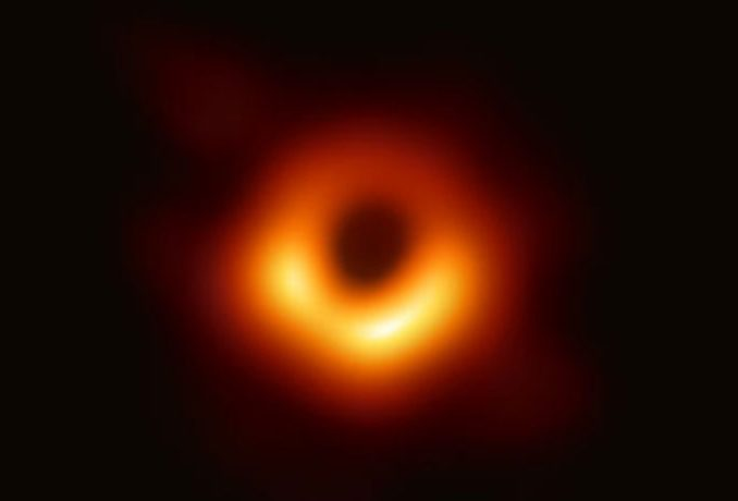 picture of black hole