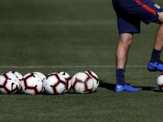 a man with a football ball: U.S. Soccer, battered publicly after missing the men's World Cup in 2018, is now facing criticism from within. © Marcio Jose Sanchez/Associated Press U.S. Soccer, battered publicly after missing the men's World Cup in 2018, is now facing criticism from within.
