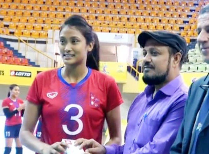 Nepali Volleyball Women