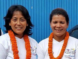 Sangina Baidya and Debu Thapa
