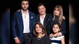 Rishi kapoor & family