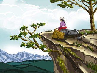 nepali village women